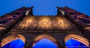 Notre-Dame Basilica at Dusk