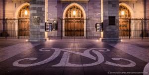 Notre-Dame Basilica Entrance