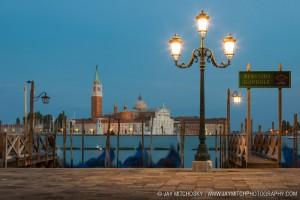 Gondolas at Piazza San Marco, Venice