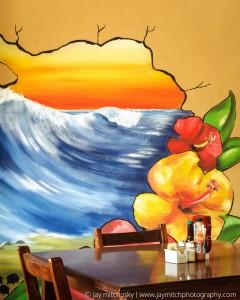 Restaurant Mural, Tamarindo, Costa Rica