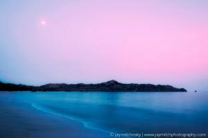 Magenta Moonlight, Playa Conchal, Costa Rica