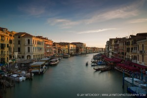 Venice Grand Canal From Rialto Bridge